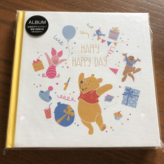 Disney - シールタイプ フリー台紙アルバム【くまのプーさん】