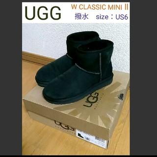 UGG - 【美品】UGG アグ W CLASSIC MINI II Wクラシックミニ2撥水