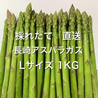 長崎産アスパラガス Lサイズ 1KG(野菜)