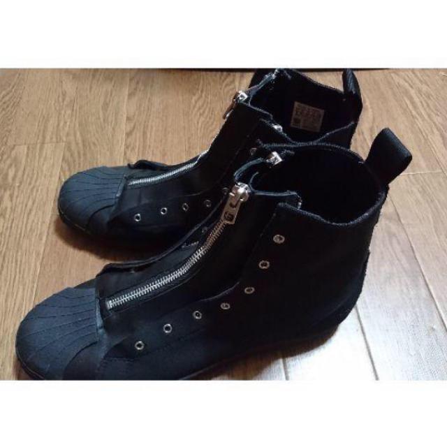 Yohji Yamamoto(ヨウジヤマモト)のyohji yamamoto zipper star スニーカー 18ss メンズの靴/シューズ(スニーカー)の商品写真