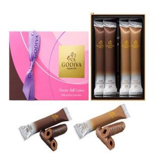 チョコレート(chocolate)のゴディバ ショコラロールクッキー 4本入 × 2セット(菓子/デザート)
