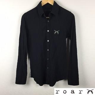 ロアー(roar)の美品 roar ロアー 長袖シャツ ブラック サイズ2(シャツ)
