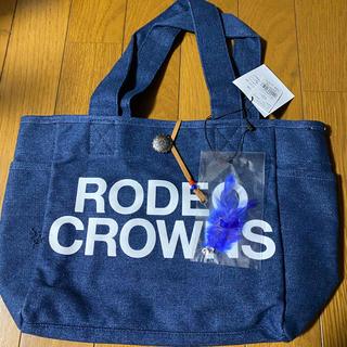 ロデオクラウンズ(RODEO CROWNS)の値下げ!RCSやすともコラボデニムバック(トートバッグ)