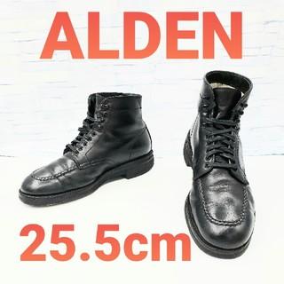 Alden - 【ALDEN/オールデン】45497H タンカーブーツ 黒