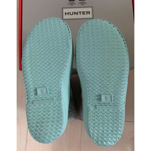 HUNTER(ハンター)のハンター キッズ レインブーツ 15 15.5 16 キッズ/ベビー/マタニティのキッズ靴/シューズ(15cm~)(長靴/レインシューズ)の商品写真
