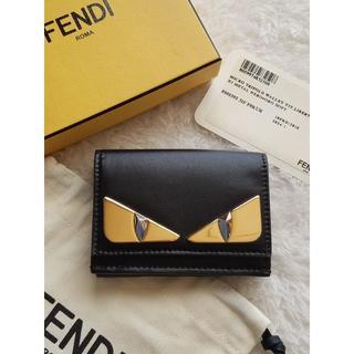 FENDI - FENDI フェンディ バッグ バグズ Micro Trifold 財布