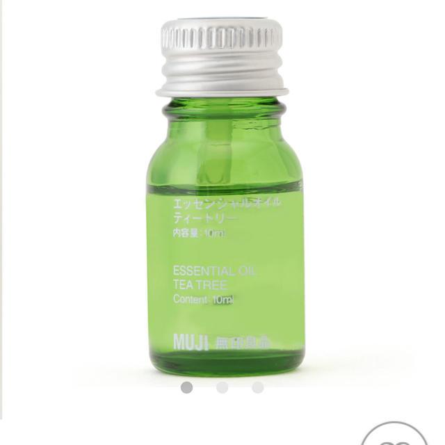 MUJI (無印良品)(ムジルシリョウヒン)の無印良品 エッセンシャルオイル ティートリー 10ml コスメ/美容のリラクゼーション(エッセンシャルオイル(精油))の商品写真
