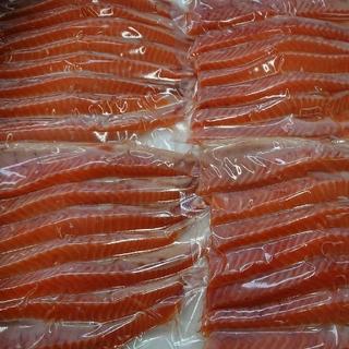 養殖 チリ産 銀鮭ハラス【冷凍・うす塩・加熱用】
