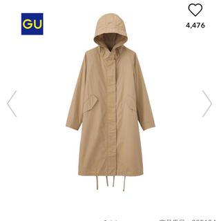 GU - ジーユー   ライトモッズコート  Sサイズ