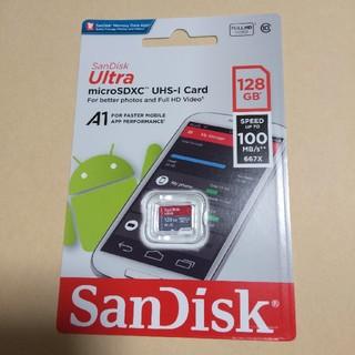 サンディスク(SanDisk)の匿名発送 sandisk micro sdカード 128GB 100MB/秒(PC周辺機器)