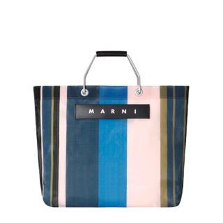 Marni - マルニフラワーカフェ ストライプバッグ