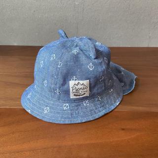 mikihouse - ピクニック PiCNiC ベビー帽子 ハット くま耳 紫外線対策 春夏 日よけ