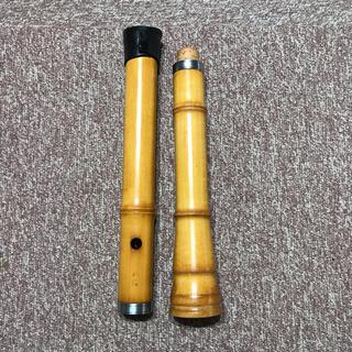 琴古流 木製尺八 松涛 1尺八寸 2本継 民謡 和楽器(尺八)