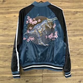 Dior - Dior ボンバー ジャケット サテン SORAYAMA コラボ 刺繍 新作