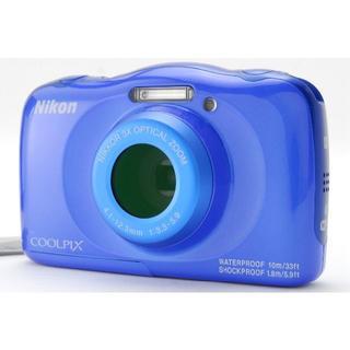 ニコン(Nikon)の★防水コンデジ★ Nikon COOLPIX W100 ブルー(コンパクトデジタルカメラ)