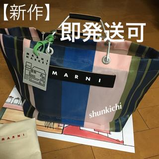 Marni - ★MARNI 【新作】マルニ フラワー カフェ トートバッグ ナイトブルー