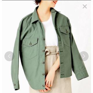 プラージュ(Plage)のplage  製品加工アーミーシャツ ミリタリージャケット (ミリタリージャケット)