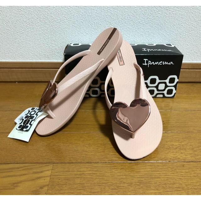 havaianas(ハワイアナス)の新品 イパネマ ハートサンダル ビーチサンダル ハート 39 25.5センチ L レディースの靴/シューズ(ビーチサンダル)の商品写真
