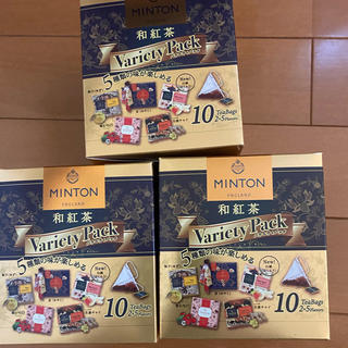 ミントン(MINTON)の和紅茶×3箱(茶)