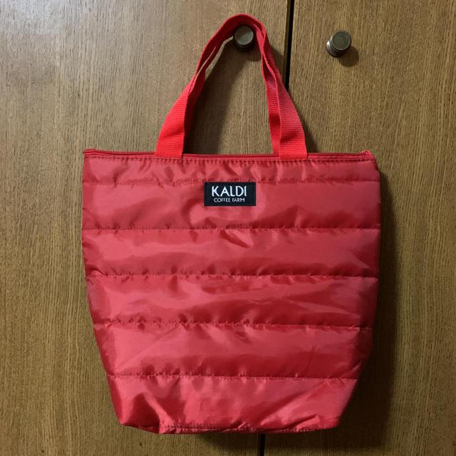 KALDI(カルディ)のカルディ バッグ 赤 レディースのバッグ(トートバッグ)の商品写真
