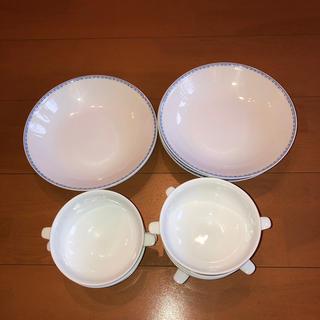ナルミ(NARUMI)のナルミチャイナ、煮物・スープ・野菜等用途色々ボール・5セット(食器)