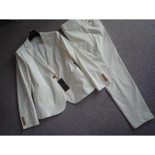 マッキントッシュ(MACKINTOSH)の新品  マッキントッシュクールストレッチパンツスーツ42 白85800円(スーツ)