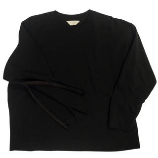 ジエダ(Jieda)のJieDa FRUIT OF THE LOOM ZIP L/S ブラック 1(Tシャツ/カットソー(七分/長袖))