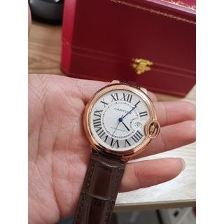 カルティエ(Cartier)の美品Cartier カルティエの青い風船の男の腕時計(腕時計(デジタル))