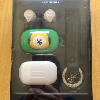 ボウダンショウネンダン(防弾少年団(BTS))のBT21 公式  Bluetooth ワイヤレス イヤホン セット (ヘッドフォン/イヤフォン)