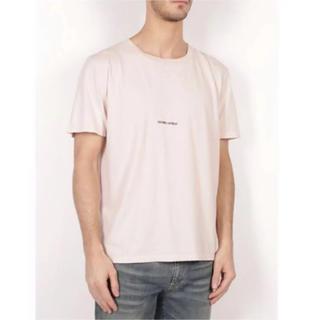 Saint Laurent - 美品 サンローラン パリ ロゴ Tシャツ L