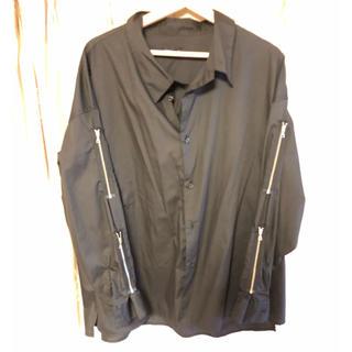 HARE - HARE ZIPデザインBIGシャツ