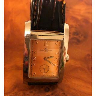 ボームエメルシエ(BAUME&MERCIER)のスイス製高級腕時計 ボーム&メルシエ ハンプトン リシュモン(腕時計(アナログ))