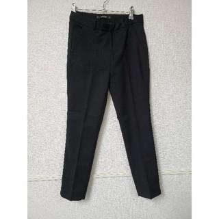 ザラ(ZARA)のZARA 定番黒パンツベルト付き Sサイズ(カジュアルパンツ)