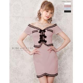 ローブ(ROBE)のローブドフルール ドレス ピンク(ナイトドレス)