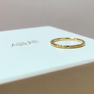 アーカー(AHKAH)の【定価3万6千円】美品 AHKAH メテオール リング(リング(指輪))