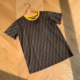 FENDI - FENDI モノグラム ロゴ Tシャツ