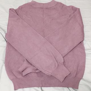 トップス 紫(ニット/セーター)