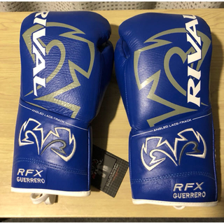RIVAL ライバル ボクシンググローブ 10oz 青 硬め