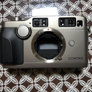 キョウセラ(京セラ)のCONTAX G2シルバー 整備済み(フィルムカメラ)