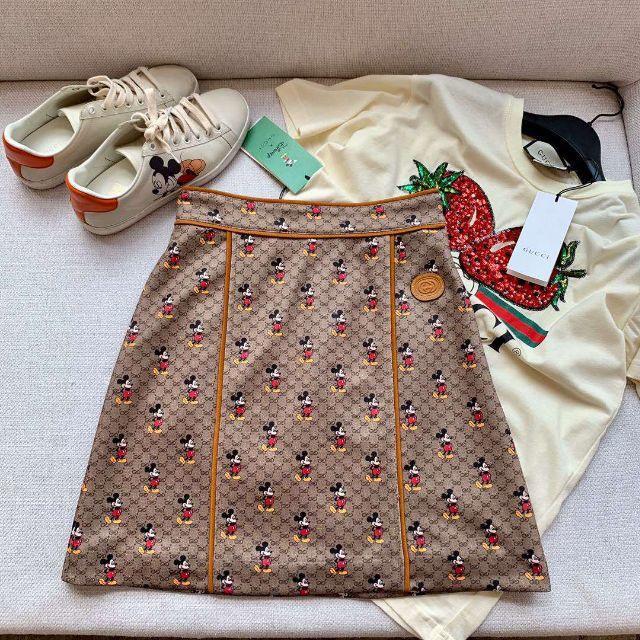 グッチ ブレスレット 時計 スーパー コピー - Gucci - グッチ GUCCI ディズニー x グッチ ミニスカートの通販