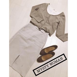 ミスティウーマン(mysty woman)のmysty woman♡ロングスリーブTシャツ(Tシャツ/カットソー(七分/長袖))