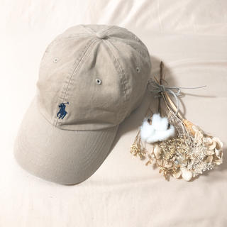 POLO RALPH LAUREN - POLO RALPH LAUREN キャップ 帽子 ベージュ