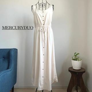 MERCURYDUO - 【美品】 MERCURYDUO ロングノースリーブワンピース