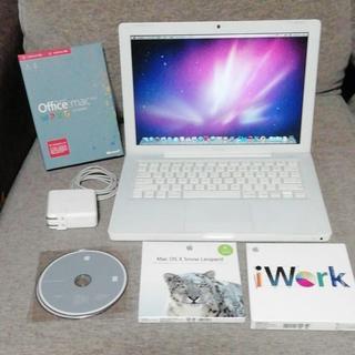 アップル(Apple)のreo0214様のみ! MacBook 2008 4gb 128gb SSD (ノートPC)