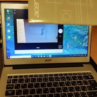 エイサー(Acer)のエイサー ノートパソコン 13.3型 シルバー色(ノートPC)