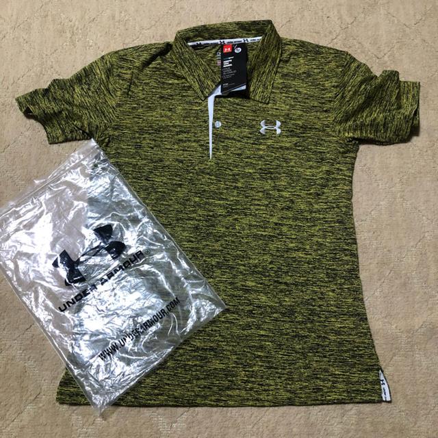 UNDER ARMOUR(アンダーアーマー)のアンダーアーマーポロシャツ スポーツ/アウトドアの野球(ウェア)の商品写真