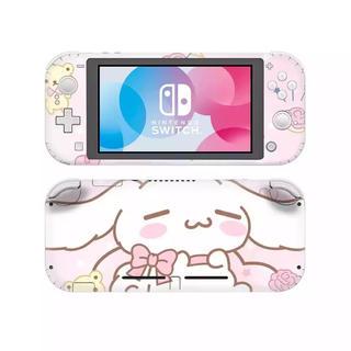 ニンテンドースイッチ(Nintendo Switch)のスイッチライト用 Switch スキンシール シナモン あつまれどうぶつの森(携帯用ゲームソフト)