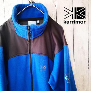 karrimor - karrimor カリマー バイカラー フリースジャケット