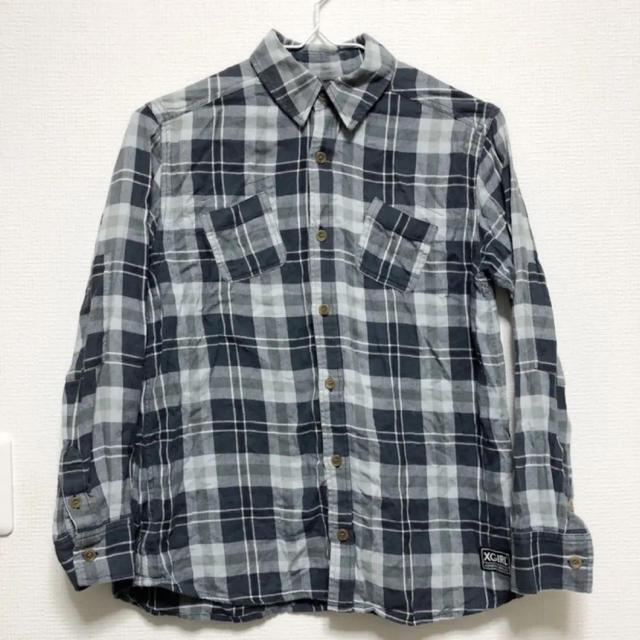 X-girl(エックスガール)のx-girl チェックシャツ ネルシャツ レディースのトップス(シャツ/ブラウス(長袖/七分))の商品写真