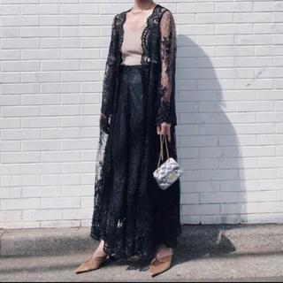 アメリヴィンテージ(Ameri VINTAGE)のAMERI vintage MEDI LINDA LACE GOWN DRESS(カーディガン)